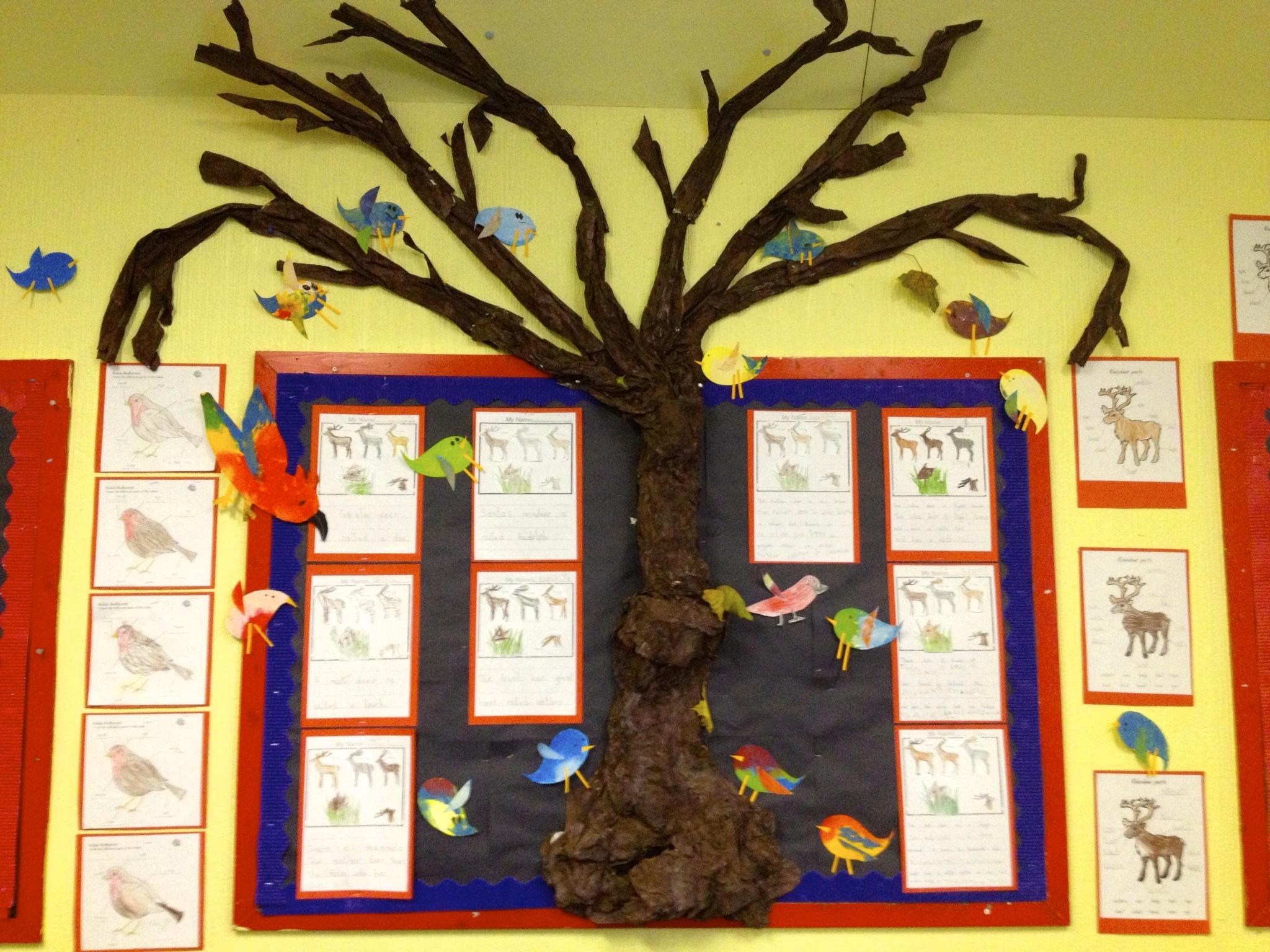 Reception class Winter Tree