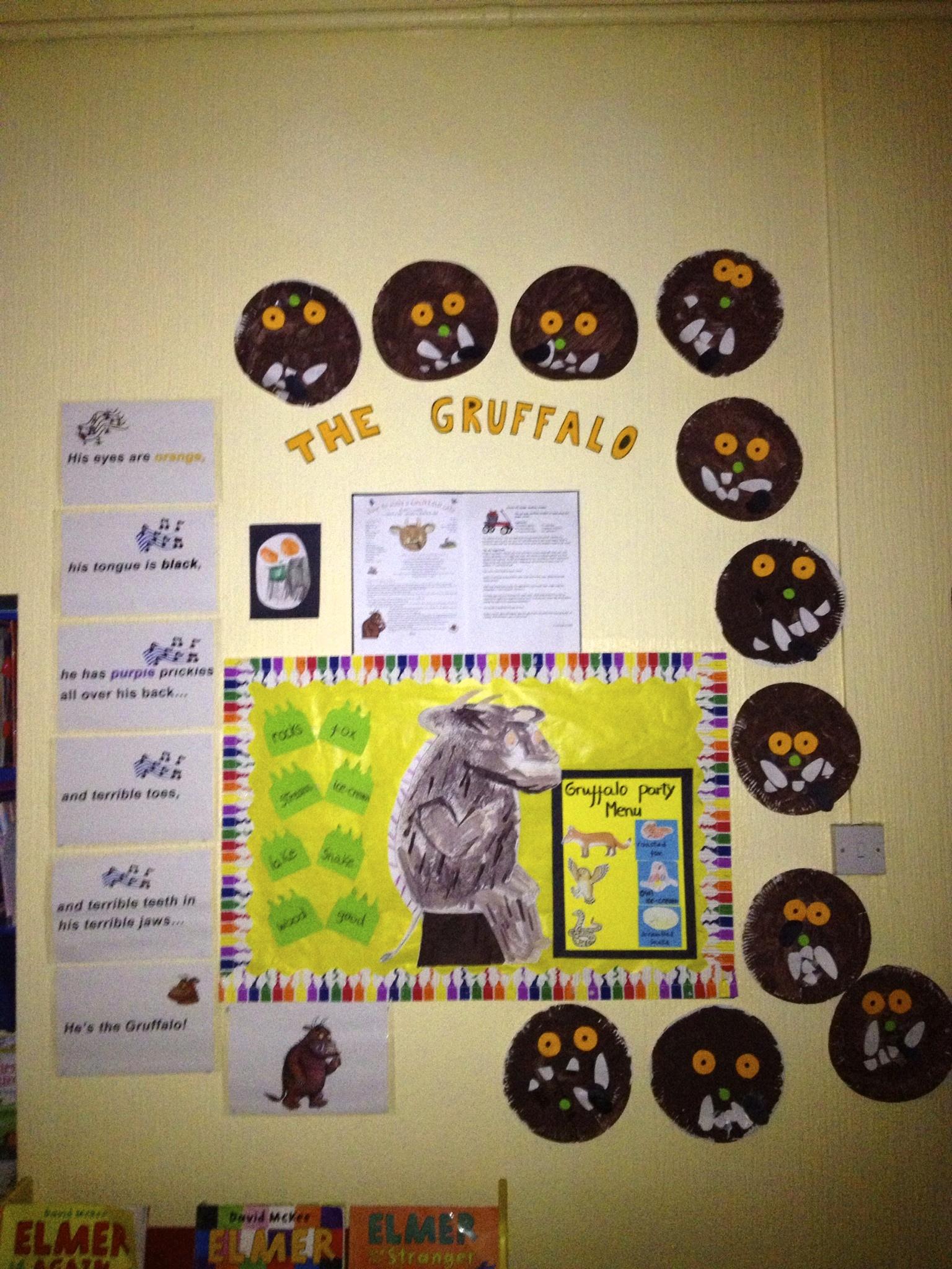 Gruffalo Party Display