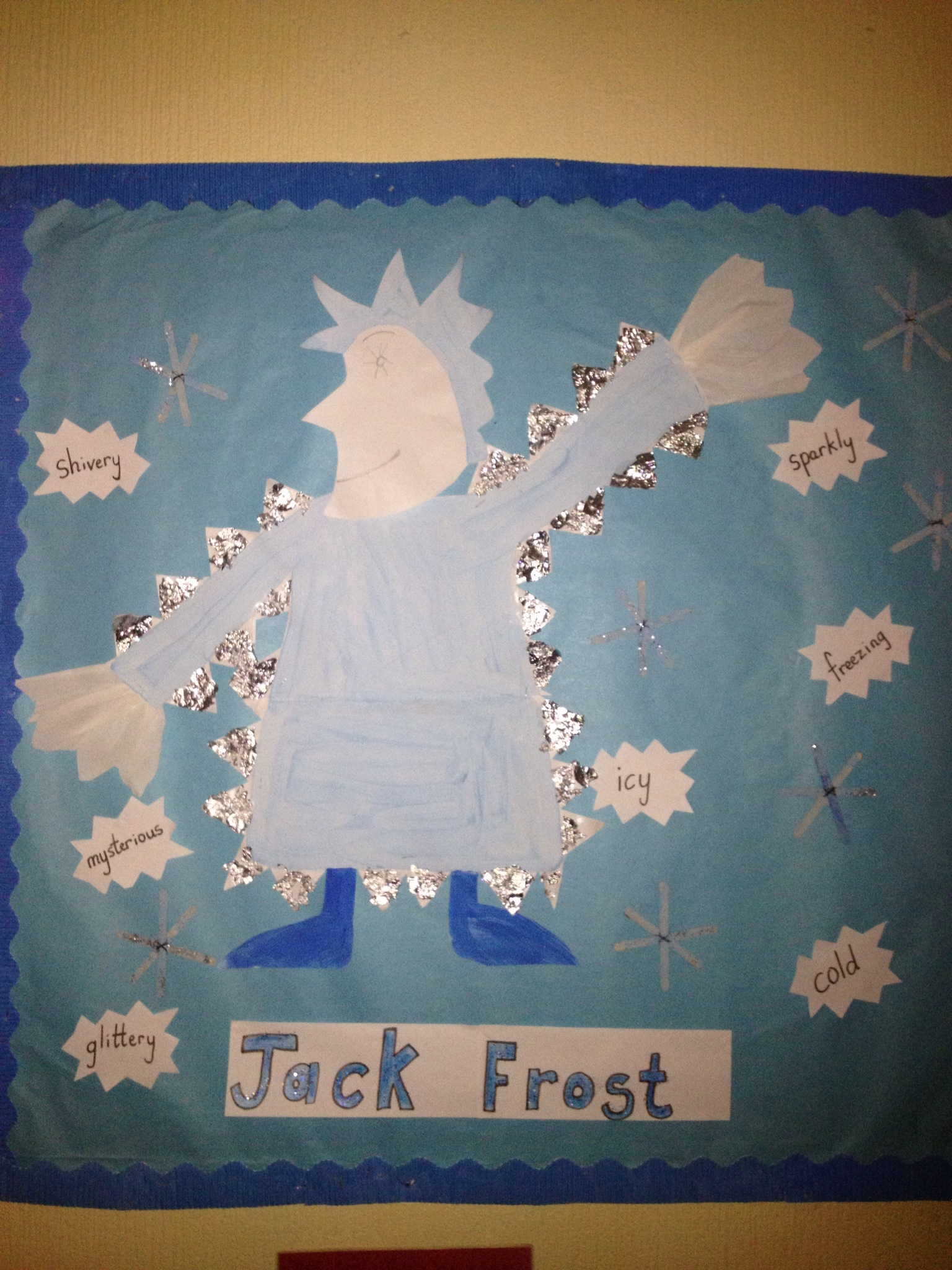 Jack Frost nipping at your nose.