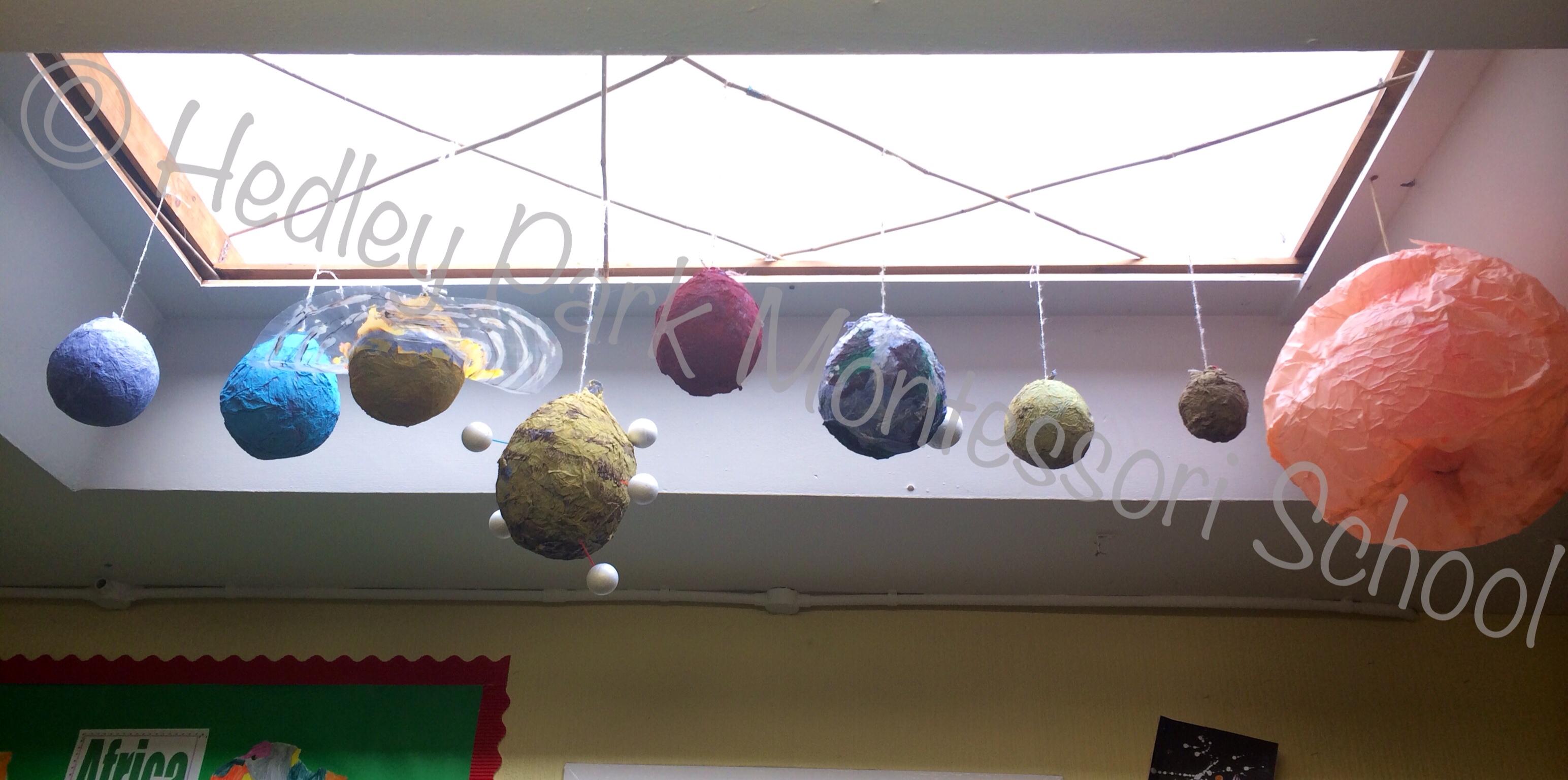 Our Solar System Planetarium!