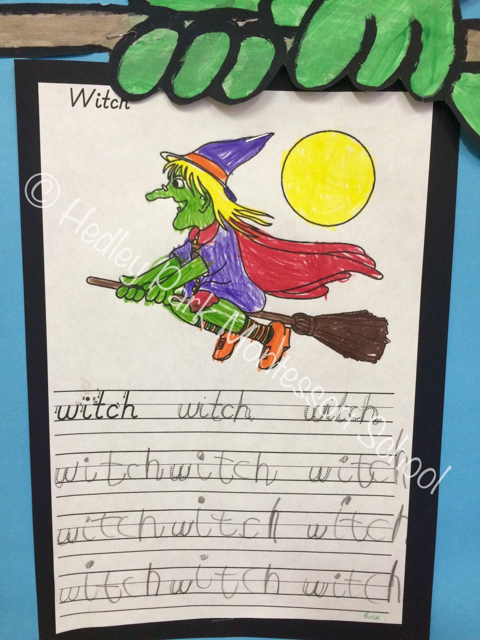 Junior Class - Writing samples